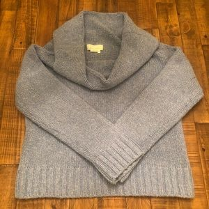Anthropologie cowl neck sweater large